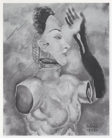 Milena Pavlovič Barilli, Composition enigmatique, 1932