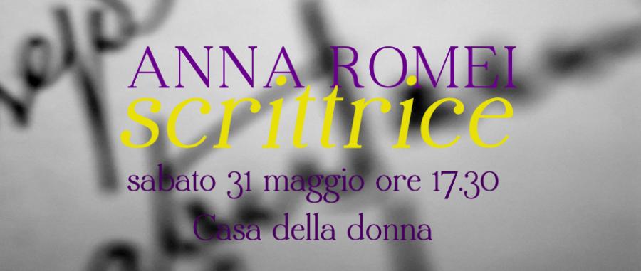 anna romei scrittrice