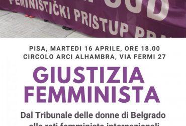 Giustizia femminista, incontro con Lepa Mlađenović