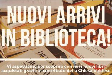 Oltre 500 nuovi libri in biblioteca grazie alla Chiesa Valdese