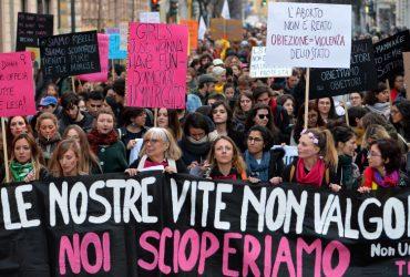 9 marzo, sciopero generale delle donne: appello ai sindacati