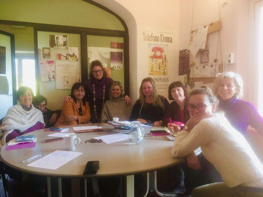 Le operatrici del centro antiviolenza Casa della donna Pisa