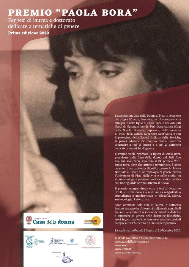 Premio Paola Bora
