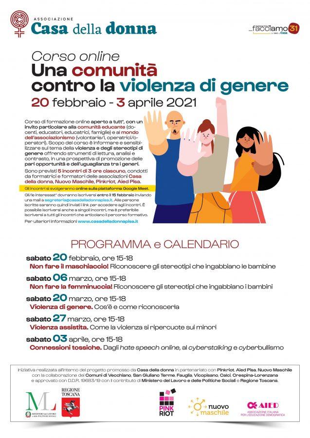 Una comunità contro la violenza di genere