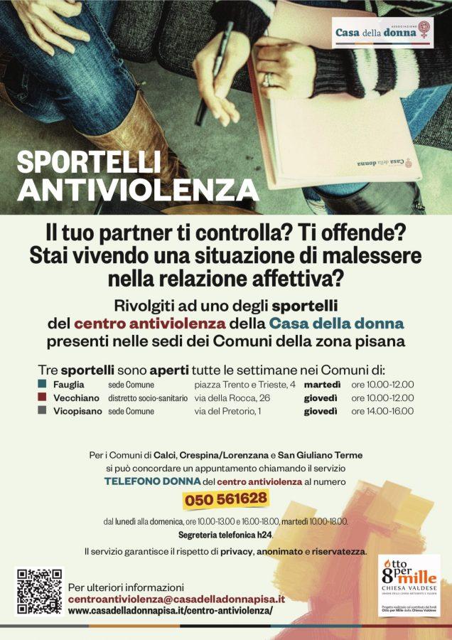 Sportelli antiviolenza Pisa