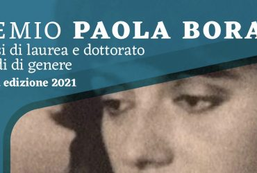 """Premio """"Paola Bora"""" in studi di genere, al via la seconda edizione"""