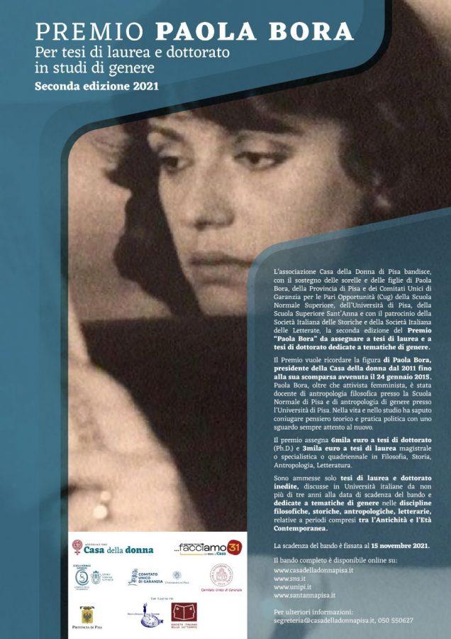 Premio Paola Bora seconda edizione