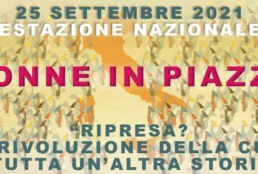 La rivoluzione della cura: Roma, 25 settembre manifestazione nazionale delle donne